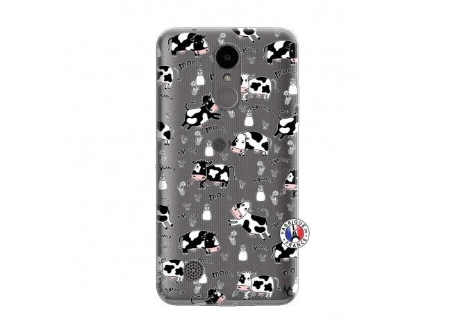 Coque Lg K4 Cow Pattern