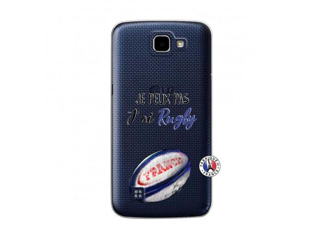 Coque Lg K4 Je Peux Pas J Ai Rugby