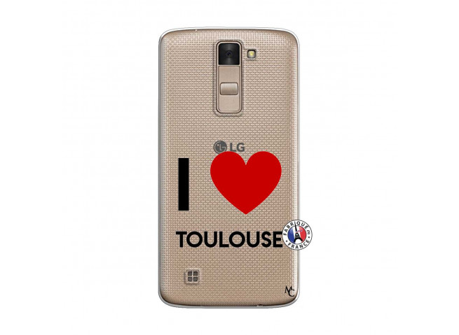 Coque Lg K8 I Love Toulouse