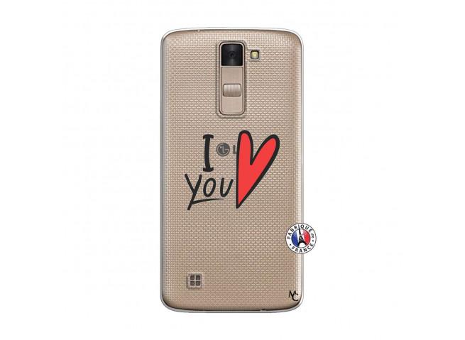Coque Lg K8 I Love You