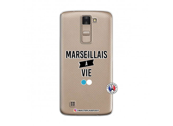 Coque Lg K8 Marseillais à Vie