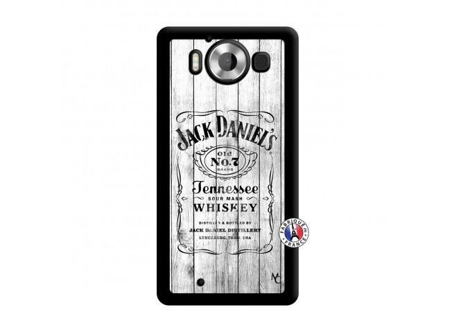 Coque Microsoft Lumia 950 White Old Jack Noir