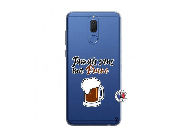 Coque Huawei Mate 10 Lite Jamais Sans Ma Brune