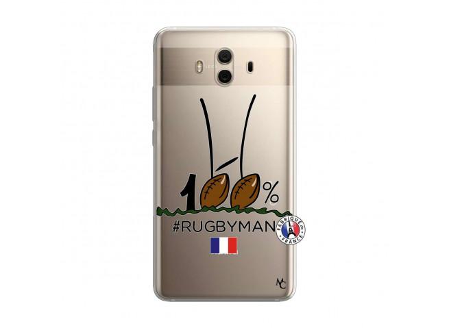 Coque Huawei Mate 10 100 % Rugbyman Entre les Poteaux