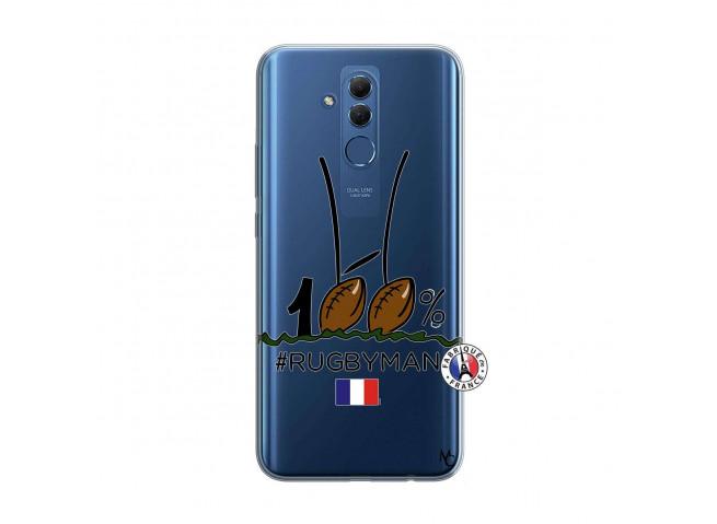 Coque Huawei Mate 20 Lite 100 % Rugbyman Entre les Poteaux