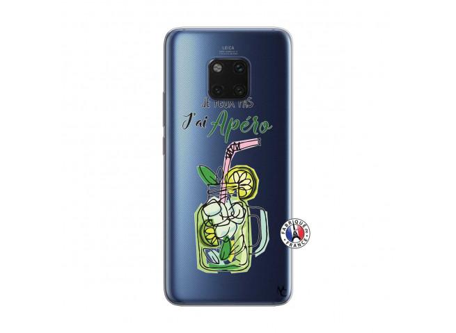 Coque Huawei Mate 20 PRO Je peux pas J'ai Apéro