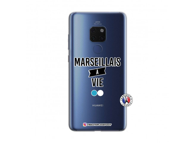 Coque Huawei Mate 20 Marseillais à Vie