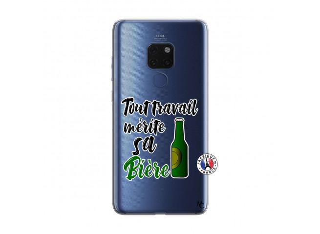 Coque Huawei Mate 20 Tout Travail Merite Sa Biere