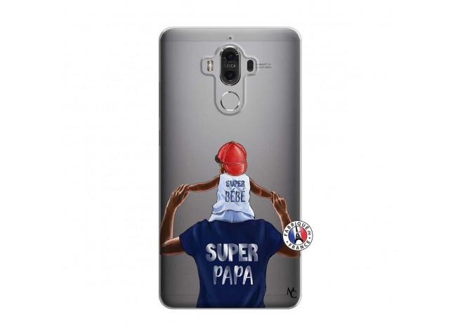Coque Huawei Mate 9 Papa Super Heros