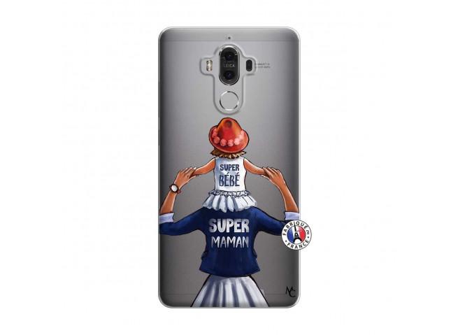 Coque Huawei Mate 9 Super Maman Et Super Bébé