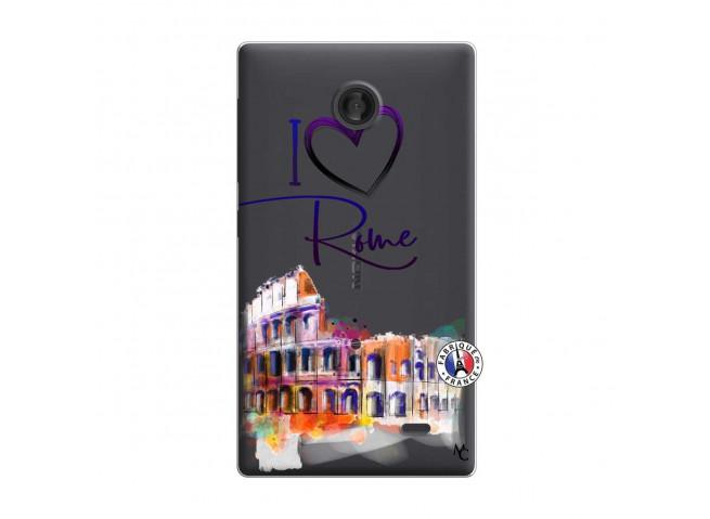 Coque Microsoft Nokia X I Love Rome