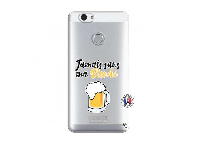 Coque Huawei Nova Jamais Sans Ma Blonde