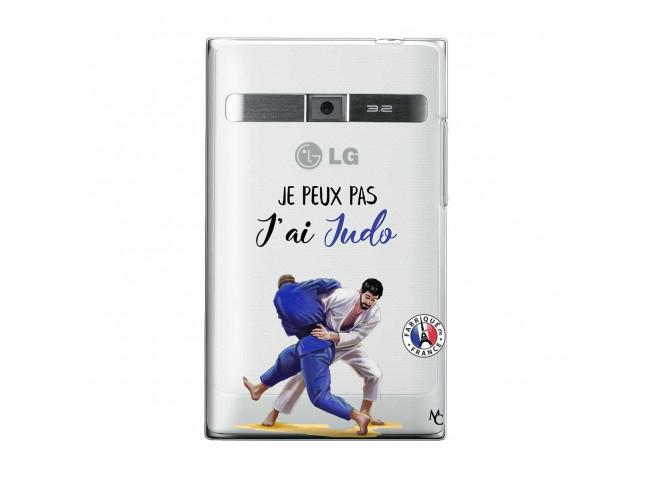 Coque Lg Optimus L3 Je peux pas j'ai Judo