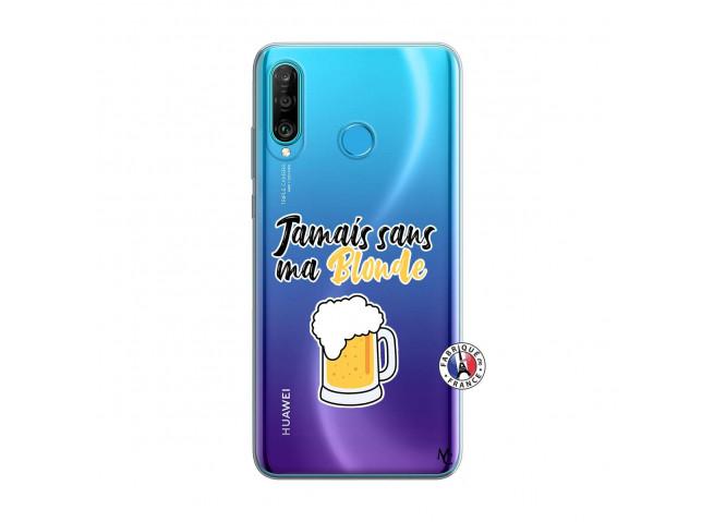 Coque Huawei P30 Lite Jamais Sans Ma Blonde