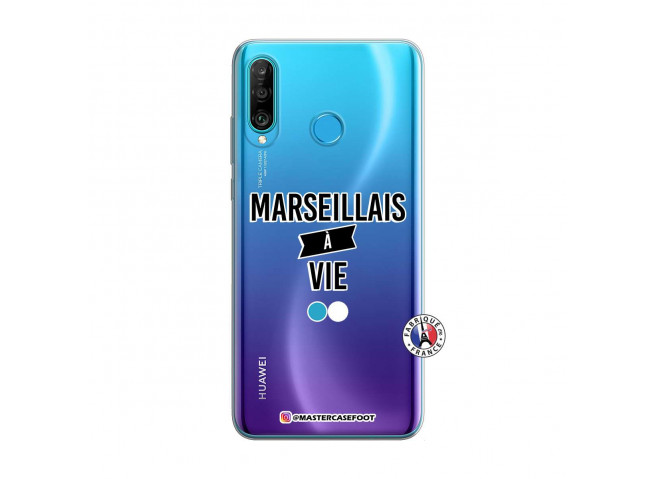 Coque Huawei P30 Lite Marseillais à Vie