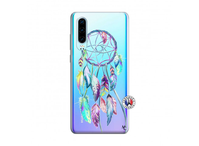 Coque Huawei P30 Blue Painted Dreamcatcher