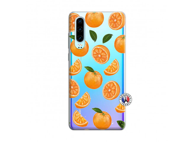 Coque Huawei P30 Orange Gina