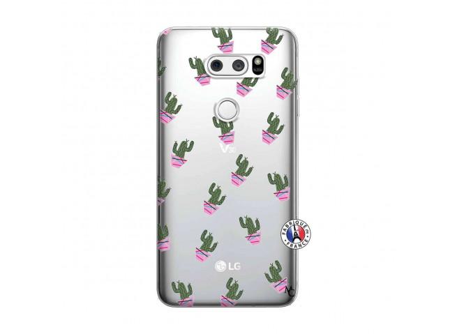 Coque Lg V30 Cactus Pattern