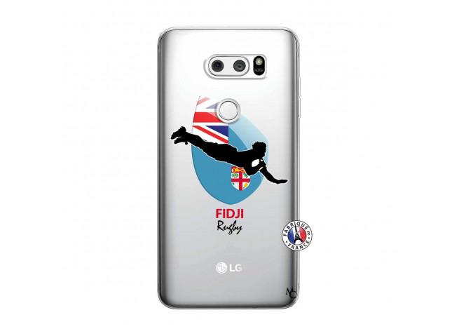 Coque Lg V30 Coupe du Monde Rugby Fidji