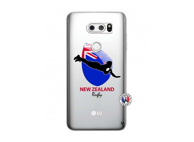 Coque Lg V30 Coupe du Monde Rugby- Nouvelle Zélande