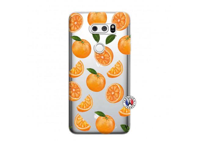 Coque Lg V30 Orange Gina