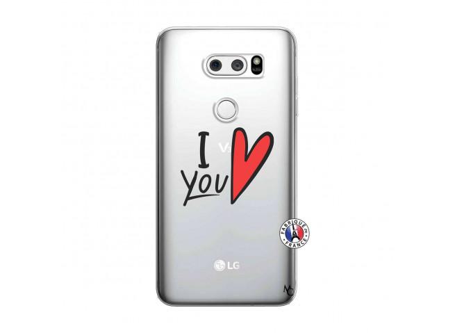 Coque Lg V30 I Love You