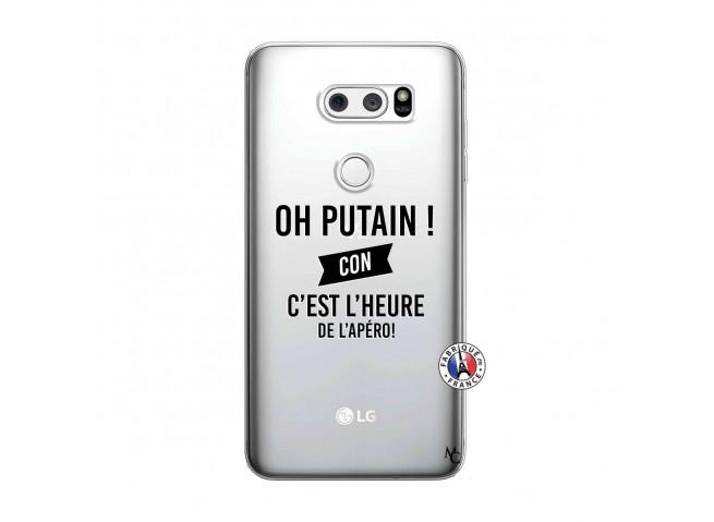 Coque Lg V30 Oh Putain C Est L Heure De L Apero