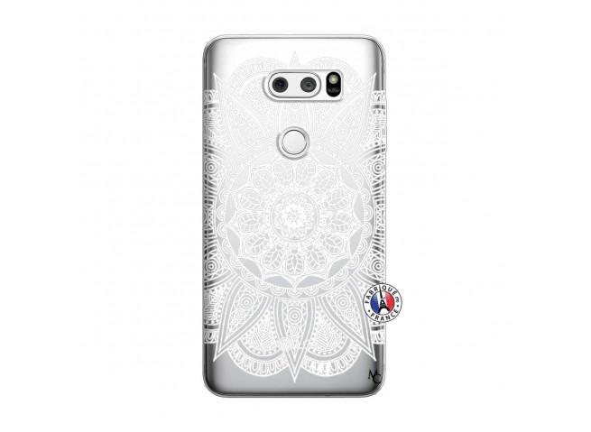 Coque Lg V30 White Mandala