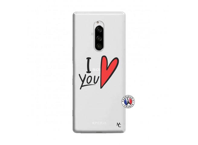 Coque Sony Xperia 1 I Love You