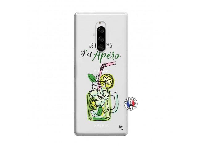Coque Sony Xperia 1 Je peux pas J'ai Apéro