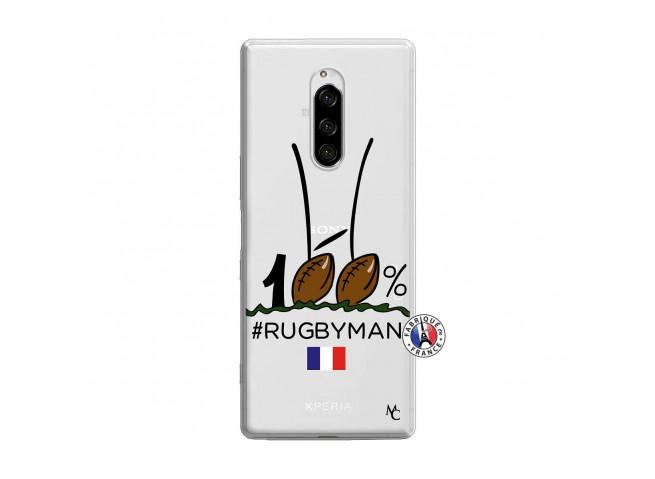 Coque Sony Xperia 1 100 % Rugbyman Entre les Poteaux