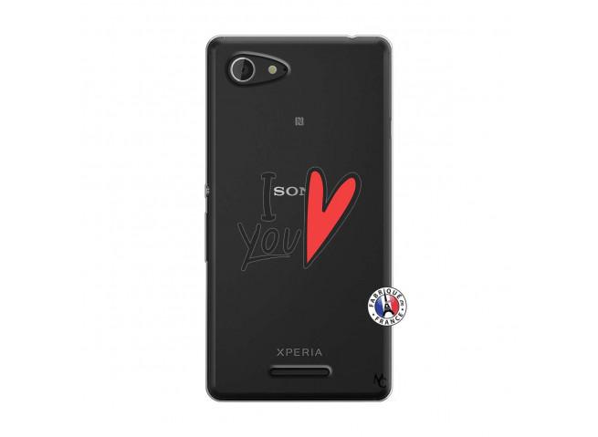 Coque Sony Xperia E3 I Love You