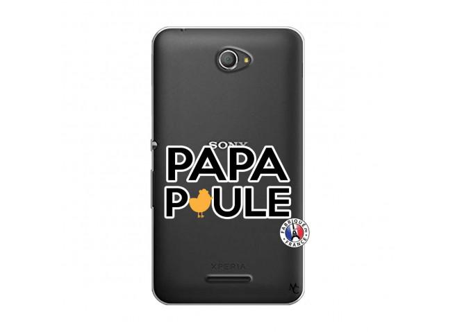 Coque Sony Xperia E4 Papa Poule