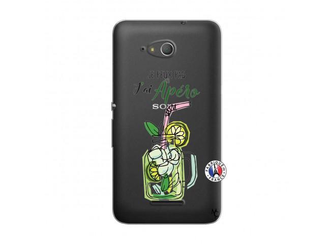 Coque Sony Xperia E4G Je peux pas J'ai Apéro