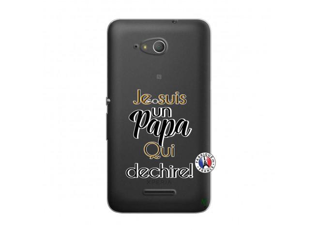 Coque Sony Xperia E4G Je Suis Un Papa Qui Dechire