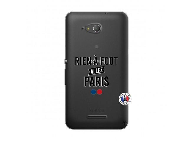 Coque Sony Xperia E4G Rien A Foot Allez Paris