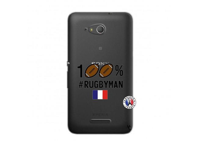 Coque Sony Xperia E4G 100% Rugbyman