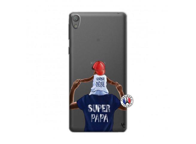 Coque Sony Xperia E5 Papa Super Heros