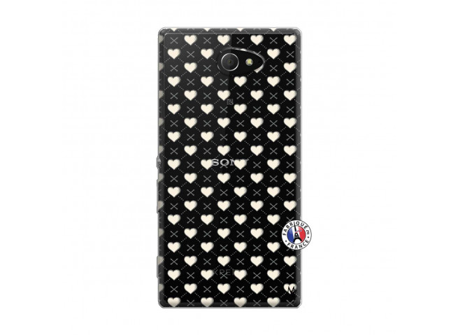 Coque Sony Xperia M2 Little Hearts