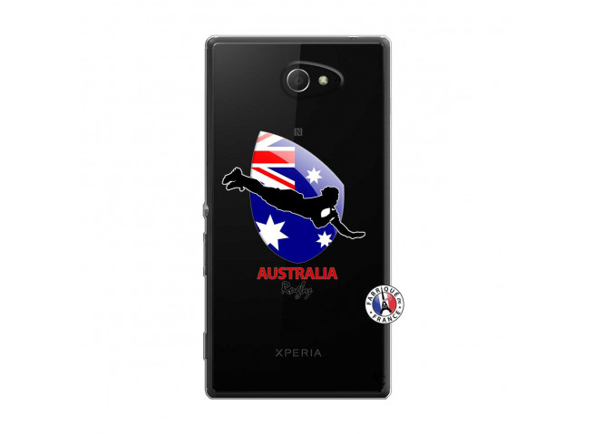 Coque Sony Xperia M2 Coupe du Monde Rugby-Australia
