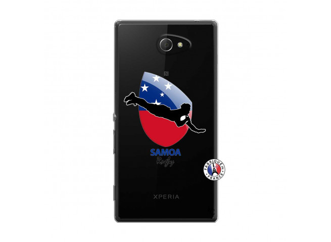 Coque Sony Xperia M2 Coupe du Monde Rugby-Samoa
