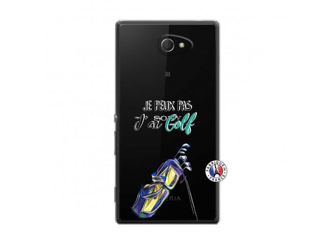 Coque Sony Xperia M2 Je Peux Pas J Ai Golf