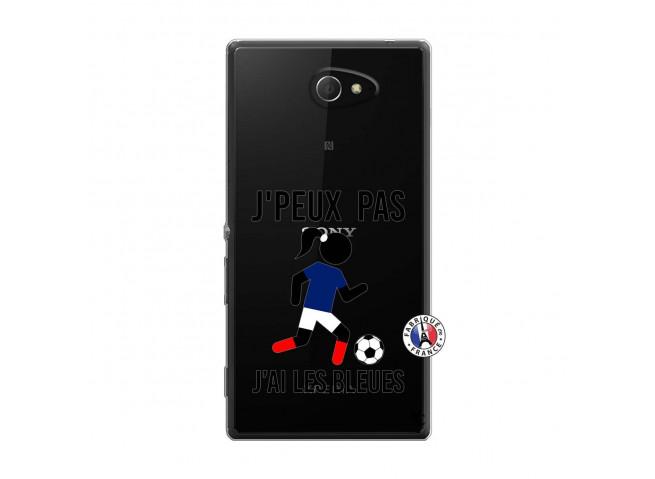Coque Sony Xperia M2 Je Peux Pas J Ai Les Bleues