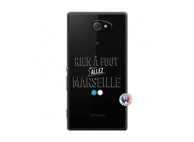 Coque Sony Xperia M2 Rien A Foot Allez Marseille