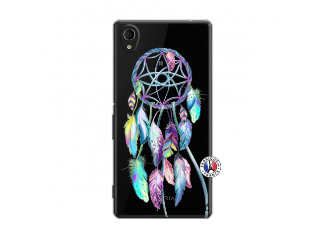 Coque Sony Xperia M4 Aqua Blue Painted Dreamcatcher