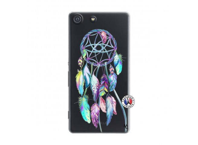 Coque Sony Xperia M5 Blue Painted Dreamcatcher
