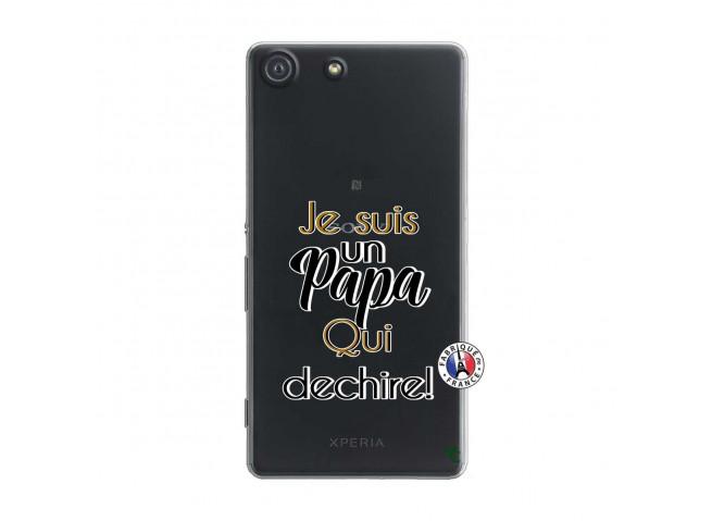 Coque Sony Xperia M5 Je Suis Un Papa Qui Dechire