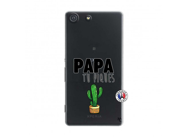 Coque Sony Xperia M5 Papa Tu Piques