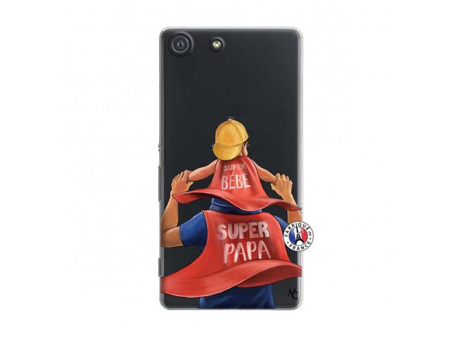 Coque Sony Xperia M5 Super Papa et Super Bébé