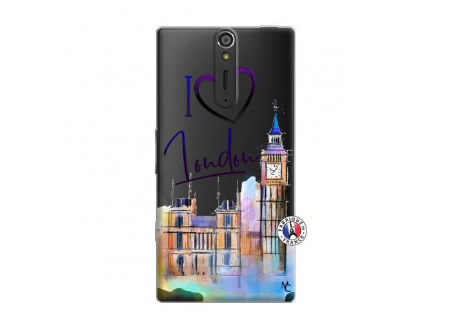 Coque Sony Xperia S I Love London